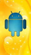 Blue Bugdroid Yellow