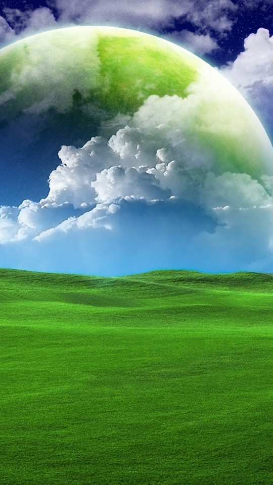Wallpapers: Grass Planet Android Wallpapers