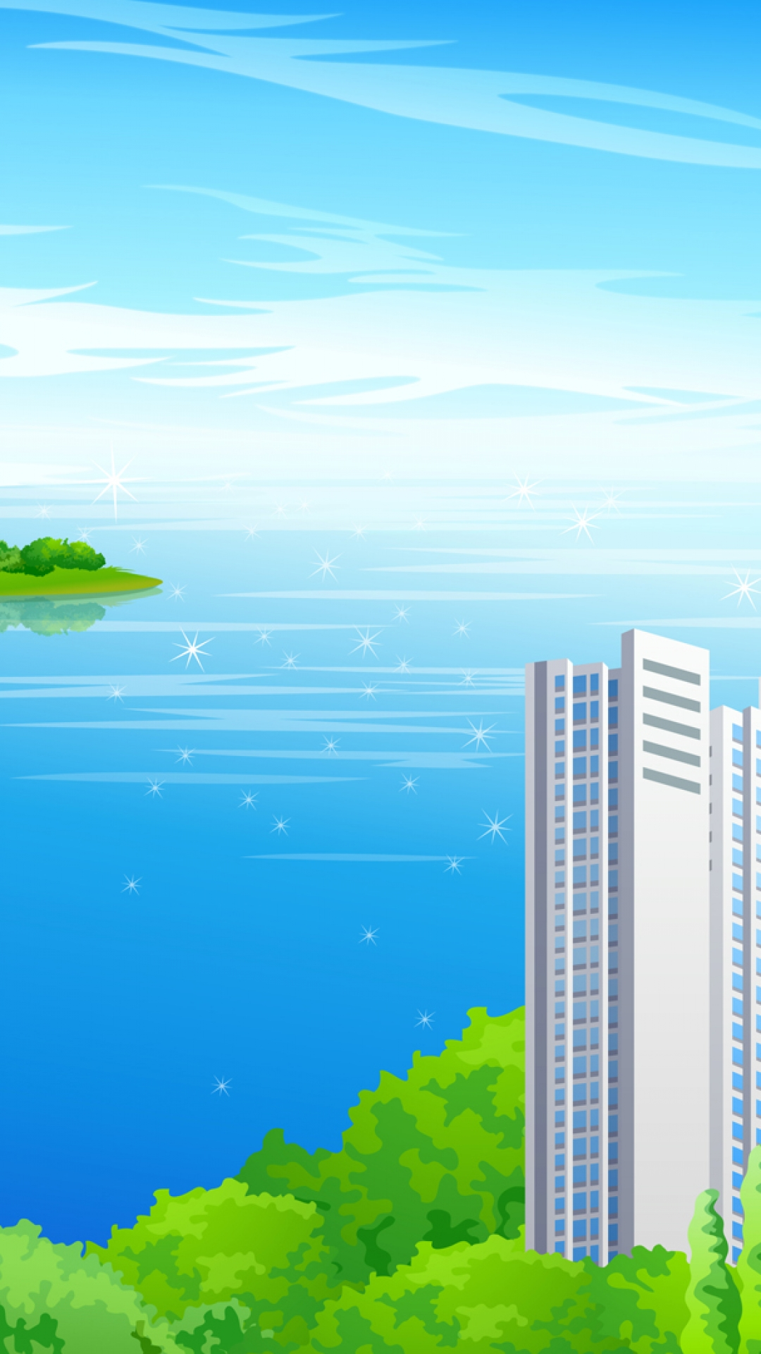 Samsung Galaxy Note 3 Wallpapers: Vector City Android