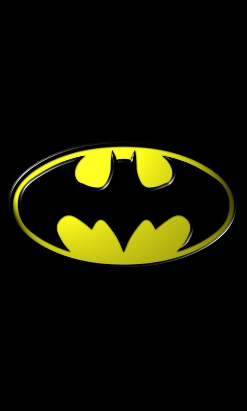 HTC Merge Wallpapers: Batman Logo Android Wallpapers