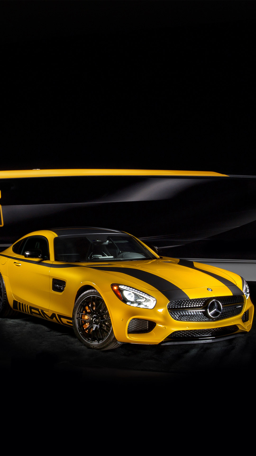 download the android amg yellow wallpaper